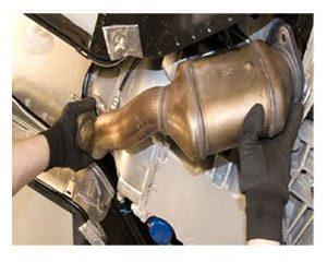 Catalytic Converter Installed