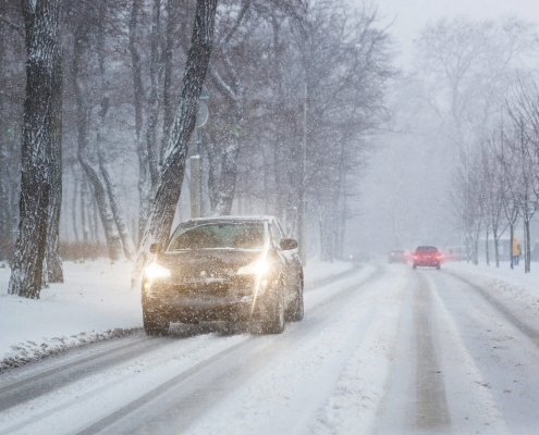 driving tips in winters