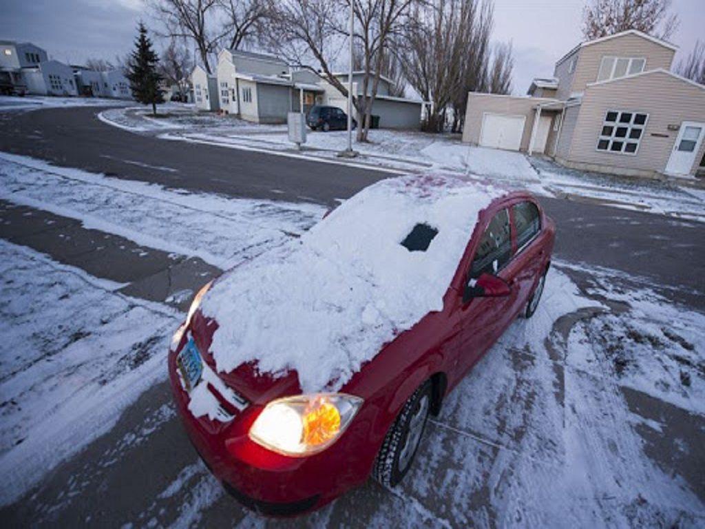 Car in winters