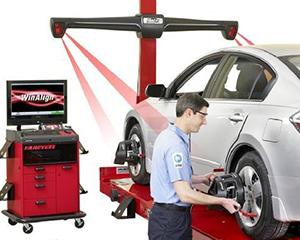 4d laser wheel alignment